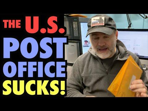 The US Post Office Sucks!!!