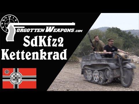 SdKfz 2 Kettenkrad: Germany's Halftrack Motorcycle