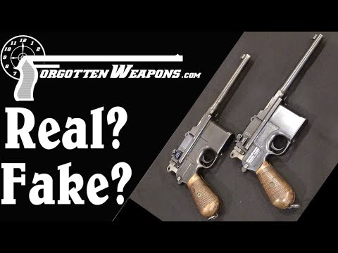 Real, Reworked, or Faked? Authenticating a C96 Mauser