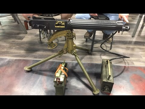 Let's talk history: 1912 Mk I Vickers Machine Gun