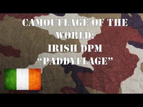 "Camouflage of the World: Irish DPM or ""Paddyflage""."