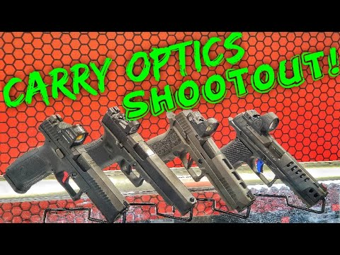 Carry Optics Shootout: CZ P10F, Glock 34 MOS, Sig P320 X5 Legion, Walther Q5 SF Pro