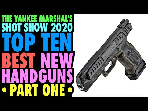 TOP TEN New Handguns from SHOT Show 2020 (Part One)