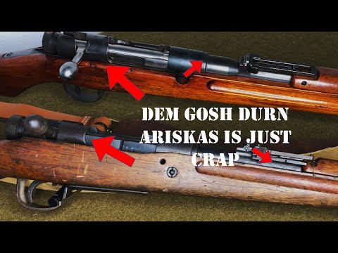 Stupid Gun Myths - Episode 16: Arisaka Rifles are Junk and Will Blow Up When You Shoot Them..