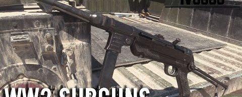 WW2 Subguns at Drive Tanks