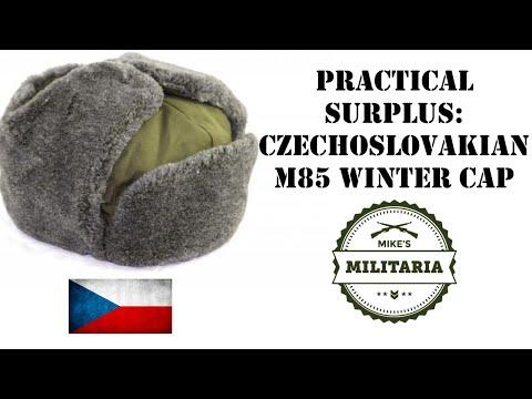 Practical Surplus - Episode 11: Czechoslovakian M1985 Winter Caps.