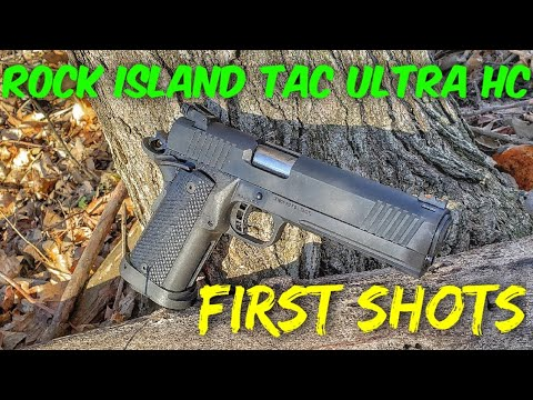 Rock Island Tac Ultra HC First Shots