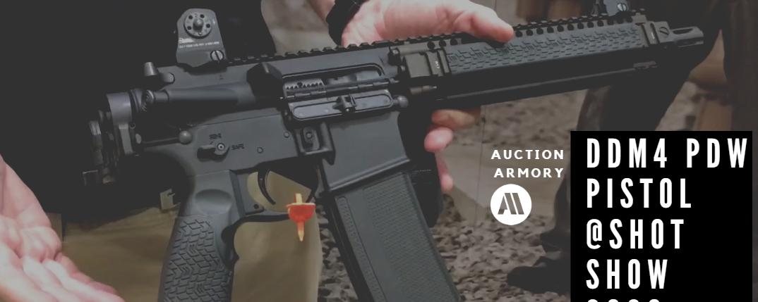 New Daniel Defense DDM4 PDW Pistol – SHOT Show 2020