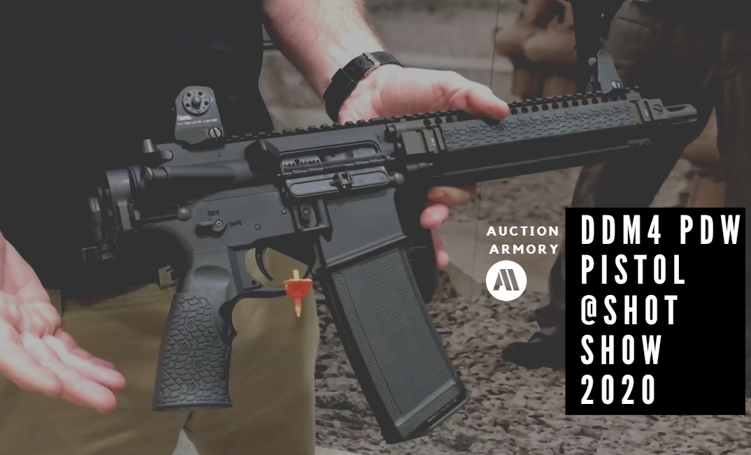 New Daniel Defense DDM4 PDW Pistol – SHOT Show 2020