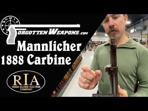 RIA Feb 2020 Special: Field-Modified Mannlicher 1888 Carbine