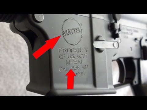 Stupid Gun Myths - Episode 19: The Early M16s Were Made By Mattel