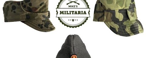 NEW ITEMS at Mike's Militaria! Romanian Field Caps, East German Wool Overseas Caps.
