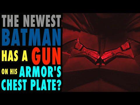 The New BATMAN Has a GUN on His Chest?