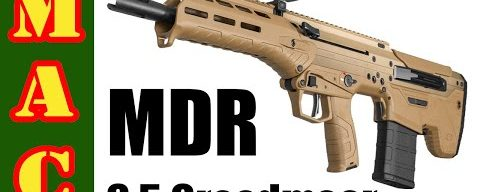 New Desert Tech 6.5 Creedmoor MDR Bullpup