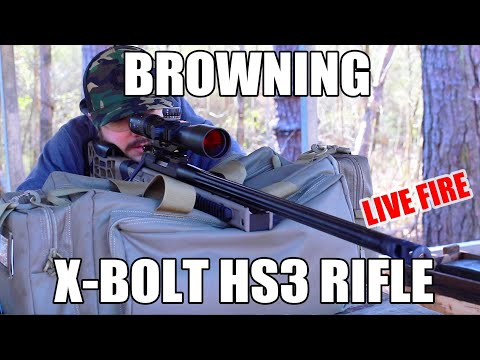 Don't Miss The Browning X-Bolt HS3 Sniper System