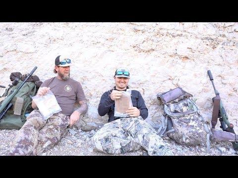 DIY Aoudad hunt in New Mexico! {MRE Taste Test}