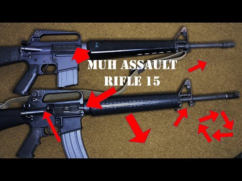 """Stupid Gun Myths - Episode 18: """"The AR in AR-15 Stands for """"Assault Rifle""""."""""""