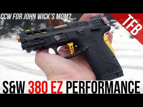 S&W Shield 380 EZ Performance Center - CCW for John Wick's Mom