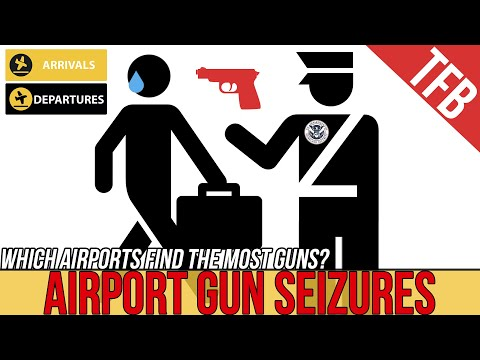 The 5 Airports That Seize the Most Guns