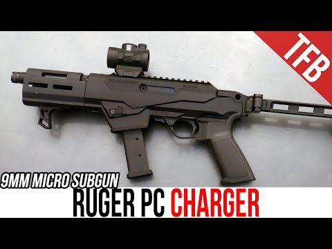 NEW Ruger PC Charger Review - 9mm Micro Subgun