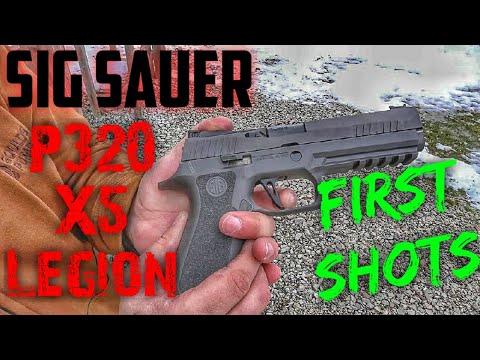 Sig P320 X5 Legion First Shots