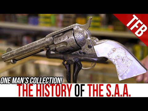 The Complete History of the Colt Single Action Army in One Man's Collection