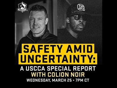 |LIVE| Safety Amid Uncertainty: USCCA Special Report |Feat. COLION NOIR|