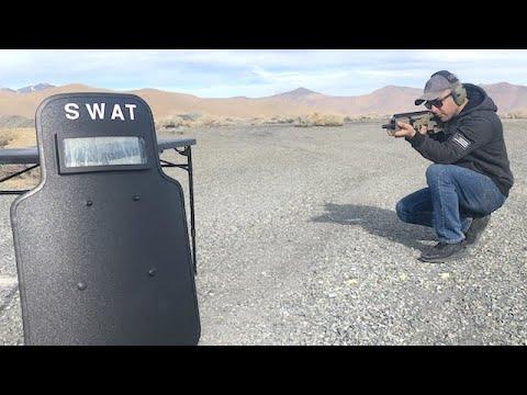 SWAT Ballistic Shield Test