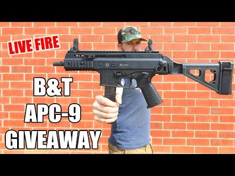 [Contest] Win The B&T APC-9 (U.S. Army's New SMG)