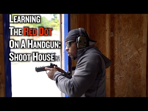Using a Red Dot in A Shoot House | Learning RED DOTS On Handguns (Part 5)
