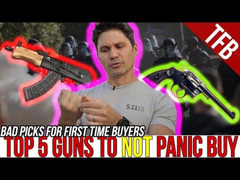 The Top 5 Guns to *NOT* PANIC BUY (For Beginners) (Coronavirus 2020 Remix)