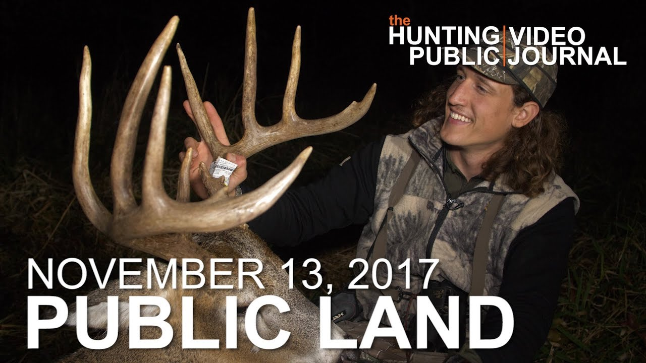 Public Land Day 30: Ghillie Suit Buck From the Ground | The Hunting Public