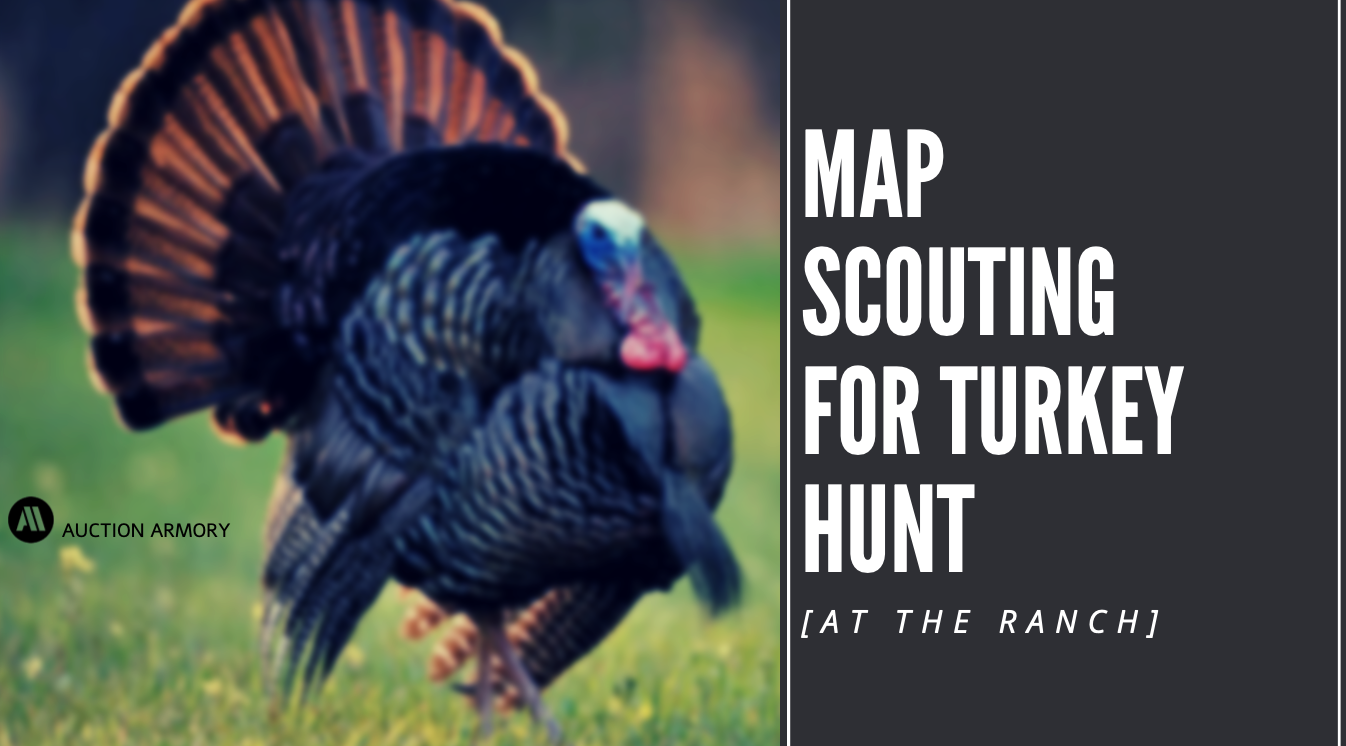 At the Ranch: Map Scouting for Turkey Hunt