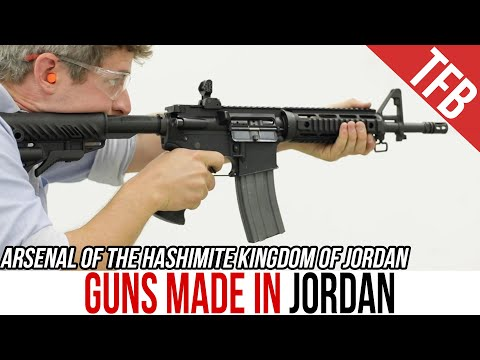 The Guns of Jordan: Small Arms Made in the Middle East