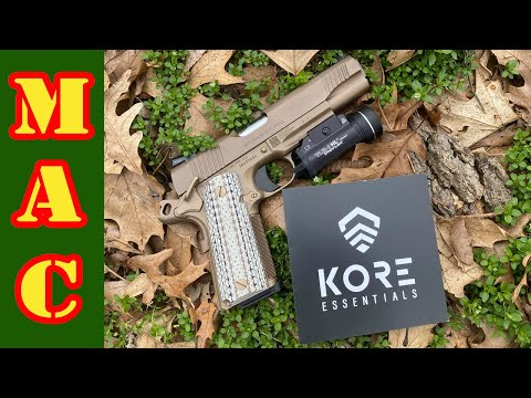 The Kore to your daily carry – a proper gun belt.