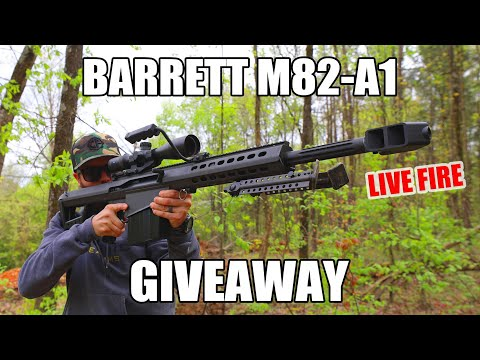 [Contest] Win A Barrett M82-A1 Anti-Material Rifle