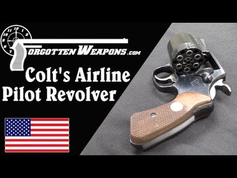 Colt's Special Revolver for Airline Pilots