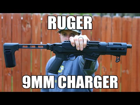 The Compact 9mm Ruger PC Charger Takedown Pistol