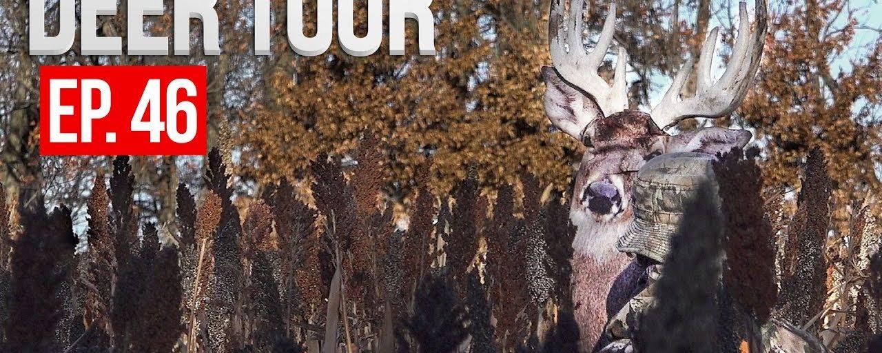 LATE RUT TACTICS, Hunting a NEW Public Area – DEER TOUR E46