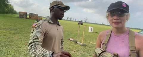 BRUTALLY INTENSE Rifle Training w/ Tactical Karl in Houston Texas!! (part 2)