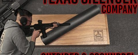 A Look At Texas Silencer Company – Outrider and Scoundrel