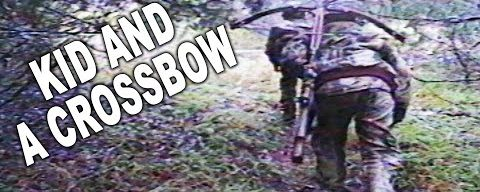 Youth Whitetail Crossbow Hunt!! | VINTAGE