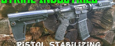 Strike Industries Pistol Stabilizing Brace