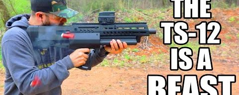 The IWI TS-12 Rotary Shotgun + Speed Review