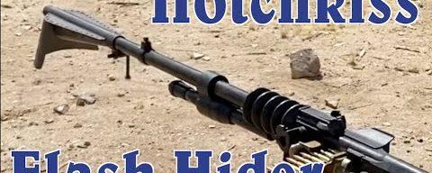 Hotchkiss 1914 Cow-Catcher Muzzle Device