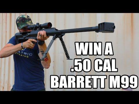 [Contest] Win A Barrett M99 .50 BMG Rifle