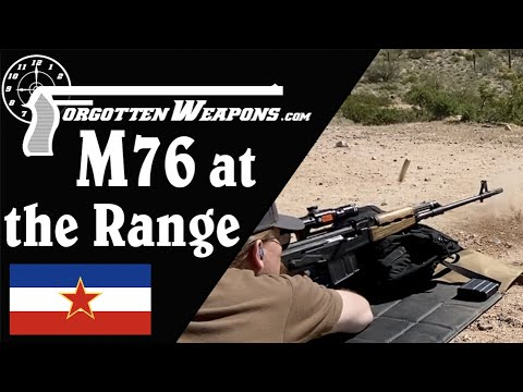 An AK in 8x57mm: The Yugoslav M76 at the Range