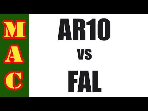 Cold War Standoff: AR10 vs FAL