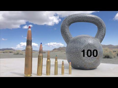 AWM and 50cal vs kettlebell