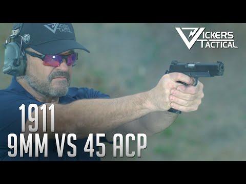 1911 - 9mm vs 45 ACP